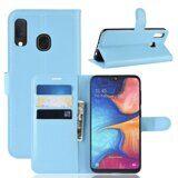 Чехол для Samsung Galaxy A20e (голубой)