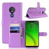 Чехол для Motorola Moto G7 Power (фиолетовый)